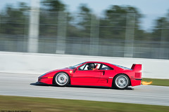 Shootin' Flames (Matthew C. Photography) Tags: classic photography nikon track matthew c flames ferrari racing shooting panning f40 2014 cavallino d3200 pbir