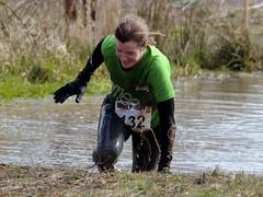 Saturday April 6th 2013. (David James Clelford Photography) Tags: woman girl lady pretty legs dirty 10k warwickshire 10km wolfrun royalleamingtonspa wetgirl femaleathlete saturdayapril6th2013
