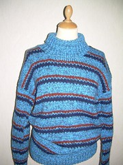 Thick Wool sweater (Mytwist) Tags: love cozy sweater warm jumper knitted handcraft cabled handgestrickt