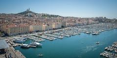 Marseille, le vieux port. (Jrme Cousin) Tags: port harbor boat marseille nikon harbour du 28 bateau 13 tamron vieux rhone massilia 2470 bouches d700