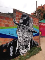 De la tierra todos venimos (Juegasiempre) Tags: street urban art wall painting graffiti calle stencil mural colombia arte bogotá campo urbano popular tierra campesino calado estencil arteurbano estarcido djlu juegasiempre