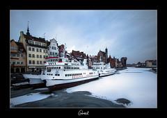 Gdansk Frozen (Aperture Variance) Tags: travel winter cold frozen europa europe poland polska baltic zima gdansk danzig easterneurope trojmiasto motlawa