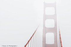 Golden Fog II (Oscar Anthony Photography) Tags: sf california bridge west fog america golden coast gate san francisco pacific suspension gateway