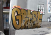 (Great Job) Tags: sf graffiti sticker san francisco mta amc grief