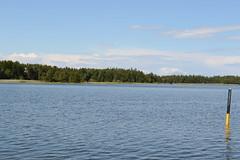 View in spiken (Ben Moffat) Tags: lake water boat sweden sverige vatten vnern bt sj spiken