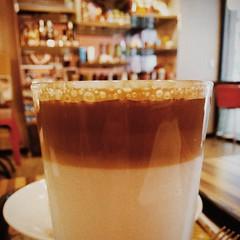 Latte ( (Jason Lin)) Tags: cup glass coffee caf dof latte    2014     newtaipeicity iphone5s