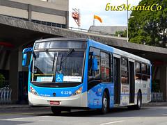 6 2218 Tupi Transportes Urbanos Piratininga (busManíaCo) Tags: brazil bus buses azul sãopaulo aeroporto congonhas caio ônibus unisul busmaníaco caioinduscar tupitransportes nikond3100 millenniumbrt