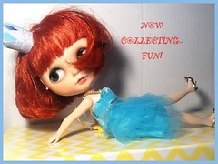 Blythe-a-Day June 2014 #22 Collections: Clara Bow Collects Fun!