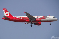 Air Berlin --- Airbus A320 --- D-ABFO (Drinu C) Tags: plane aircraft aviation sony special airbus dsc a320 mla airberlin lmml dabfo hx100v adrianciliaphotography