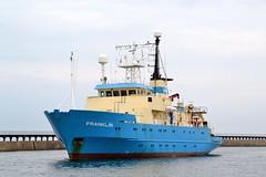 Franklin Blyth 160615 (silvermop) Tags: sea port river boats franklin ship offshore ships blyth surveyvessels
