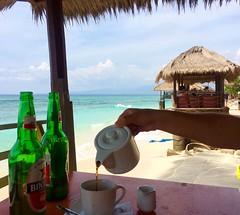 Bali kopi (Juha Helosuo) Tags: indonesia bali lombok island paradise love kopi coffee travel morning good life best ocean iphone apple instagram insta bintang beer bottle surf surflife waves watching waiting surfer surfing swell