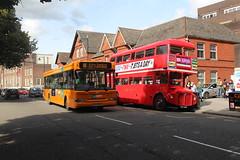 RML2344 378 (matty10120) Tags: cuv344c routemaster cardiff university y378gax capital link dart train railway bus class