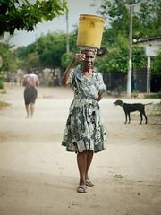 "De la serie ""Retratos de San Basilio de Palenque"" (Carovb) Tags: portrait postcards colombia retrato palenque san basilio documental"
