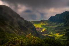 The Kalalau Lookout (phase 2) (IzTheViz) Tags: hawaii kauai napali kalalau napalicoast hawai