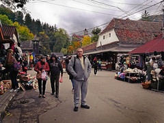 Down in the village - Bran (Photogioco) Tags: romania roads vacation villages views fun travel traditional house bran beautiful vladtepes dracula castle market