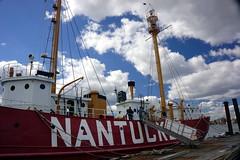 Nantucket Lightship, Boston MA (Boston Runner) Tags: lightship nantucket boston harbor museum preserved lv112 massachusetts 1936 shipyard marina eastboston entrance port ramp