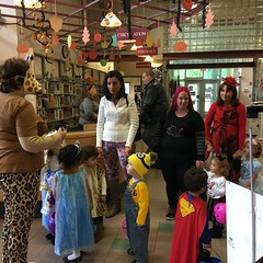 Halloween Parade (mcllibrary) Tags: ewing branch youth services event