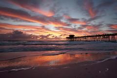 A pleasant morning at the pier. (Jill Bazeley) Tags: cocoa beach florida usa sunrise pier sony alpha a6300 rokinon 12mm space coast brevard county