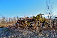weatherhill (riccardo nassisi) Tags: truck camion abbandonato abandoned rust rusty relitto rottame ruggine ruins scrap scrapyard epave cava piacenza san nicol