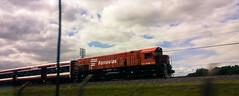 (ttiinnggoo) Tags: train outdoor sky movement onthemove clouds vehicle rail railroad