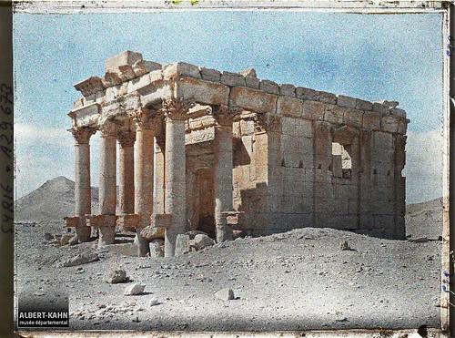 Syrie, Palmyre, le Petit Temple