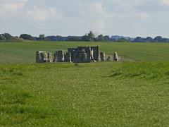 Stone Circle (amandabhslater) Tags: stonehenge wiltshire stonecircle prehistoric neolithic sarsen bluestone sky clouds grass