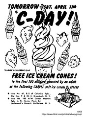 1953 carvel ice cream (albany group archive) Tags: albany ny 1953 carvel ice cream guilderland