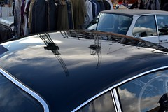 2016-10-01: Looming Cranes (psyxjaw) Tags: london londonist vintage festival classic car boot sale classiccar kingscross shopping lewiscubitsquare