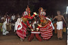 Theyyam Side to Side - 6 (Anoop Negi) Tags: theyyam india kerala art form dance god dancing ritual hindu red dress kannur cannanore portrait anoop negi ezee123 photography photo body paint painting bodypainting