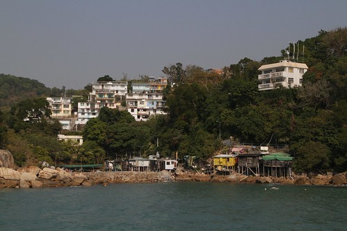 Arriving at Yung Shue Wan on Lamma Island