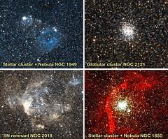 LMC Little Gems with CACTI (angelrls, El Lobo Rayado) Tags: 2016 aao aat astronoma cacti divulgacin grannubedemagallanes