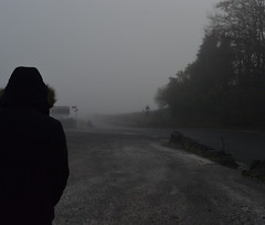 outside speedwell cavern (annaclair97) Tags: ghostly surreal fog