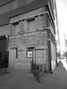 TGIF Entrance In Helmer Building (PPWIII) Tags: grandrapids downtown helmer leonard refrigerator ottawa ionia ferry grandrapidsindiana railroad trains tgif black white
