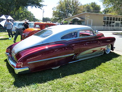 1949 Chevrolet Fleetline (bballchico) Tags: 1949 chevrolet fleetline chopped custom kustom scallops flames darylschaar janschaar billetproof billetproofantioch carshow 40s