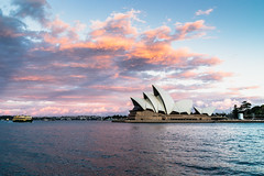 Sydney Opera House Sunset (haoguoju) Tags: fe35mmf14za zeiss zeissfe35mmf14za distagon 35mm australia nsw newsouthwales sydney spring landscape outdoor a7m2 a7 sony sonya7markii sonyilce7m2 fe sydneyoperahouse cityscape cloud harbour travelling sea sunset light architecture therocks