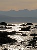 6358 Rocks, ripples and sparkles (Andy - Busyyyyyyyyy) Tags: 20161105 aaa aberlleiniog backlit bbb boulders menaistraits mmm ripples rocks rrr sss water wavelets www