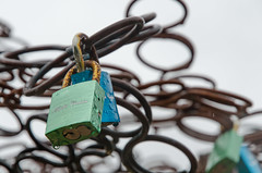 Lock tree (Spannarama) Tags: padlocks locks sculpture tree wire steel suspended nationalmotormuseum