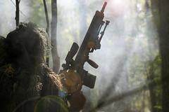 ballahack airsoft sniper (TheSwampSniper) Tags: airsoft sniper swamp bolt action ballahack marksman replica intervention elite force g28 novritsch owner field ghillie suit hood best dmr high powered spring aeg