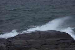 Splash (Yvonne L Sweden) Tags: autumn femre hav femrehuvud sweden stersjn oxelsund splash stnk balticsea cliff november sea 3662016