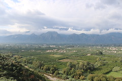 """Looking east over Sparti Heroon  """"Menelaion"""", for the worship of Menelaus and Helen of Troy since the 8th century BC (Kevin J. Norman) Tags: menelaion menelaus helenoftroy sparta sparti greece heroon"""
