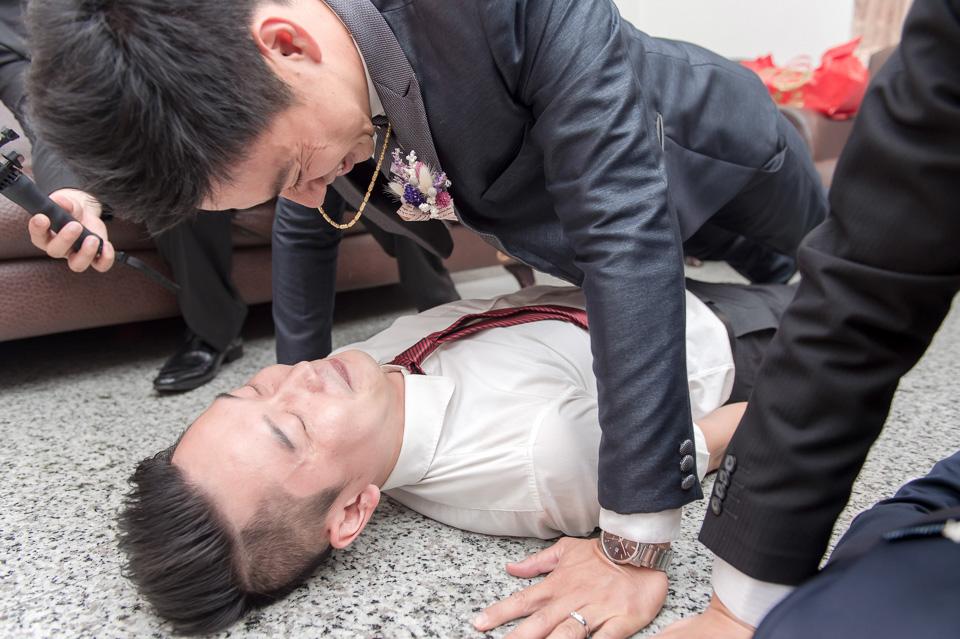 台南婚攝 婚禮紀錄 情定婚宴城堡 C & M 026