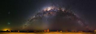 Milky Way over The Pinnacles Desert - 50mm Panorama