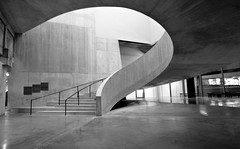 Switch House Spiral Stair (shadow_in_the_water) Tags: stairs spiralstair staircase concrete theswitchhouse newtatemodern tatemodern architecture herzogdemeuron artgallery banksidepowerstation bankside london se1