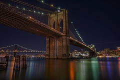 Brooklyn Bridge (karinavera) Tags: travel sonya7r2 bridge view longexposure night cityscape urban brooklyn