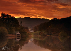 Wansfell Pike Above Rydal Water (M J Turner Photography ) Tags: rydalwater wansfellpike lakedistrict cumbria england sunrise dawn morning lake hill fell boathouse
