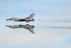 United States Air Force - Thunderbirds display team                                                 Lockheed Martin F-16 (Flame1958) Tags: 7915 usaf unitedstatesairforce usafthunderbirds thunderbirds thunderbirdsdisplayteam f16 f16c lockheedmartin lockheedmartinf16 121116 nellisairforcebase nellis usmil usmilitary aviationnation aviationnation2016 aviationnation16 1116 2016
