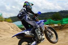 One summer day (go_Matin) Tags: motocross mx racing japan yamaha yz250f yamalube jt