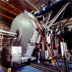 Preparing the BABAR Detector for Installation (SLAC National Accelerator Laboratory) Tags: babar particlephysics collider bfactory slac slacarchivesandhistoryoffice slacnationalacceleratorlab