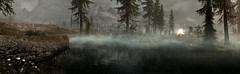 Giant Feast (D U B L) Tags: bethesda pano panorama the elder scrolls v skyrim special edition se tesv tamriel video game studios outdoor landscape forest trees giant fire mist fog mods stream computergraphic digital digitallygenerated digitallygeneratedimage 3d background computer graphics gaming gamingscreenshot games gamingart gallery gamingpicture pics pc pic picture photography photo sceenshot screenshots screen shot shots nvidia gpu