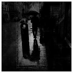 Aungier St (P. Correia) Tags: 2016 dublin iphone5s pcorreia silhouette rain lluvia pluie ireland man